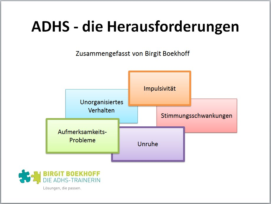 ADHS-Symptome und Herausforderungen