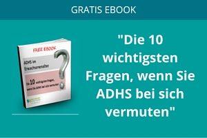 gratis ebook ADHS im Erwachsenenalter